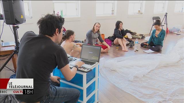 La troupe Mars elle danse utilise la technologie dans son nouveau spectacle