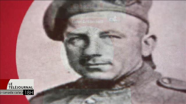 Des Français au Canada pour rendre hommage à un soldat néo-écossais mort durant la bataille de Vimy