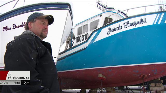 Des pêcheurs de crabe de Chéticamp inquiets de perdre leur zone de pêche