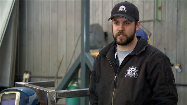 Retour au bercail d'un jeune entrepreneur parti travailler dans l'Ouest canadien