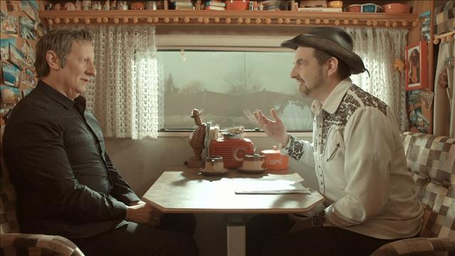 Robert Lepage se confie dans le Winnebago