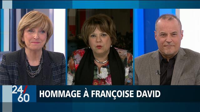 Hommage à Françoise David