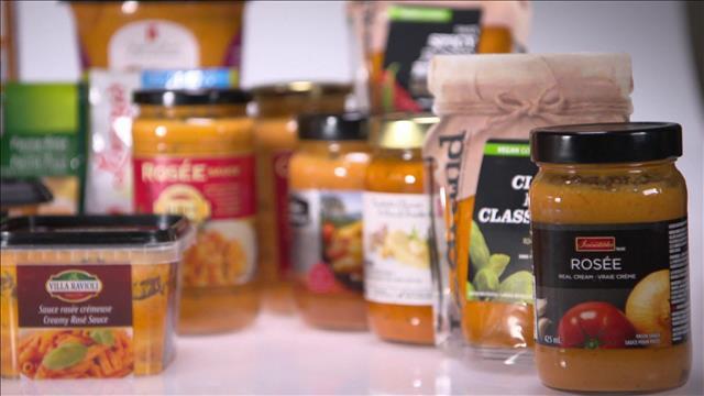 Les sauces rosées / Des aliments plus que transformés et Jarry Deuxième Traiteur