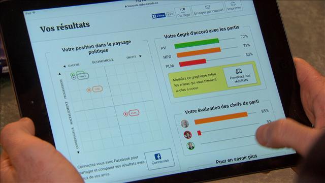 La Boussole électorale disponible pour les élections de la Colombie-Britannique