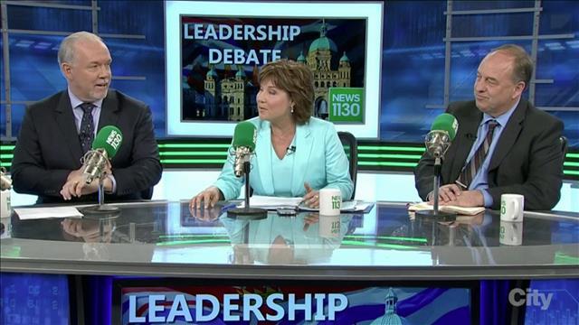 Élections provinciales : débat des chefs