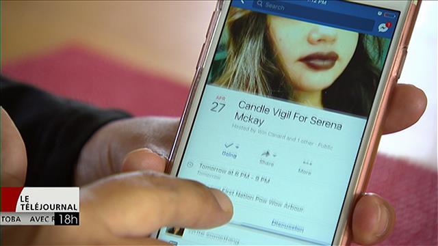 Meurtre de Serena McKay : le chef de Sagkeeng souhaite le retrait d'une vidéo sur Facebook