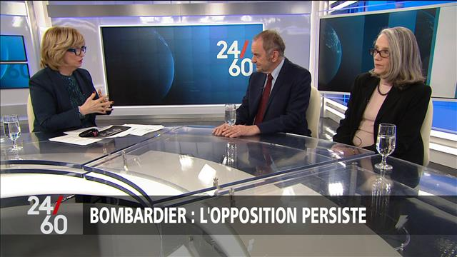 Bombardier : la grogne continue