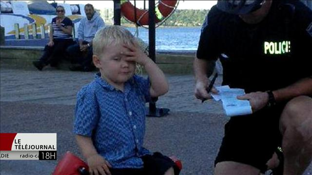 Les policiers utilisent l'humour pour faire passer des messages