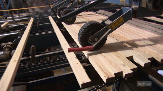 Vers une autre guerre du bois d'œuvre