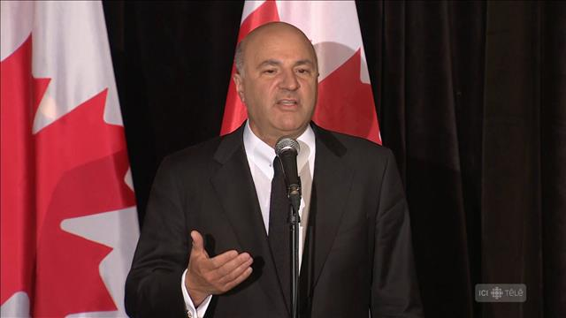 Course à la direction conservatrice : Kevin O'Leary se retire