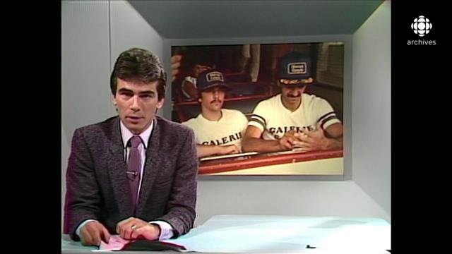 Reportage au bulletin de nouvelles Ce soir du 5 août 1983