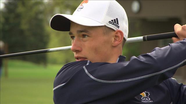Sylvain Ruest, 16 ans, rêve de devenir joueur de golf professionnel