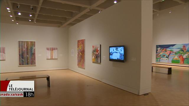Une centaine d'oeuvres de l'artiste autochtone canadien Alex Janvier à Regina