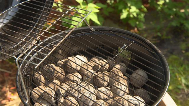 Le retour des briquettes et du charbon de bois