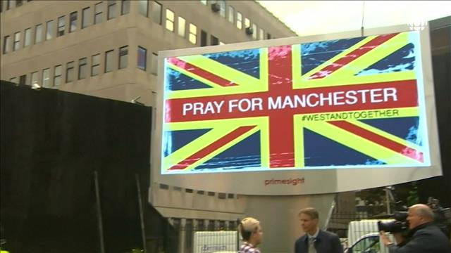La Grande-Bretagne sous le choc après l'attentat de Manchester