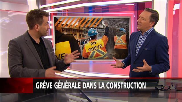 Grève générale dans la construction