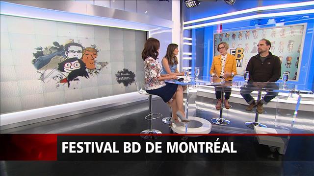 Le Festival de la BD de Montréal