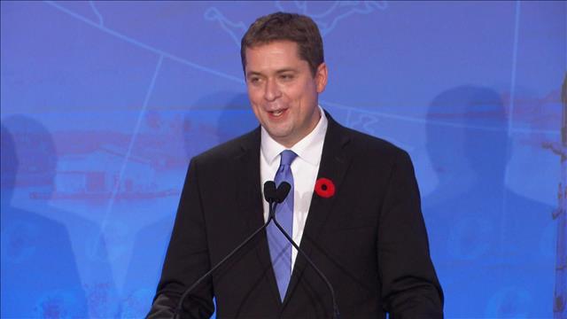 Portrait du nouveau chef conservateur, Andrew Scheer