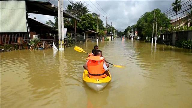 Inondations meurtrières au Sri Lanka