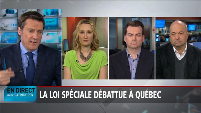 Le panel politique du 29 mai 2017