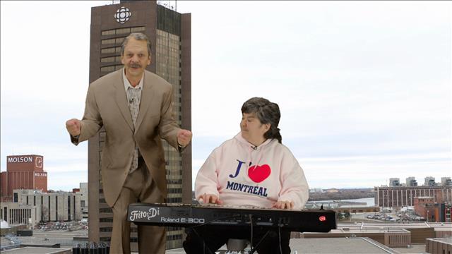 Découvre ta ville avec Melville: la tour de Radio-Canada