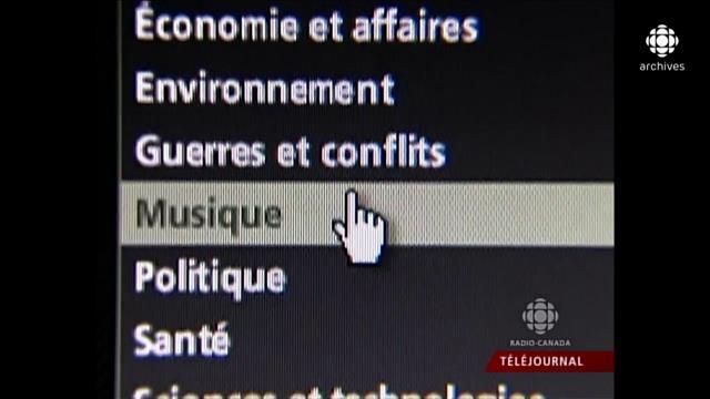 Les grands débuts de la zoneaudio-vidéo de Radio-Canada.ca