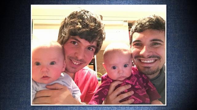 Papa, papa et les jumeaux