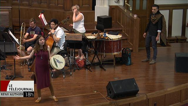 Nanabozho et le tambour, une collaboration entre le Cercle Molière et l'Orchestre de chambre du Manitoba