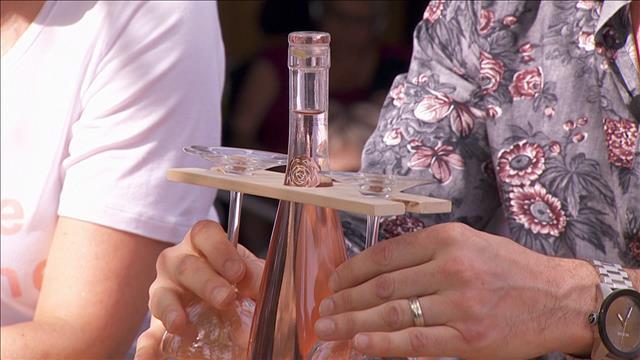 Fabriquer son propre support à verres à vin