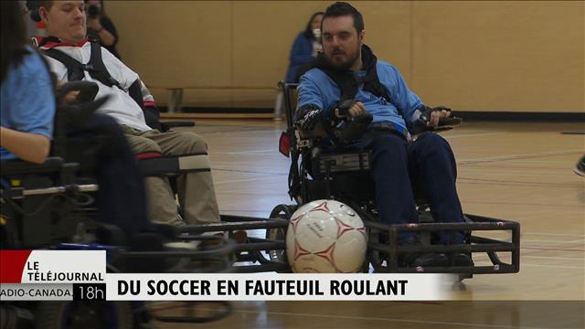 Le soccer en fauteuil roulant, un sport pas comme les autres