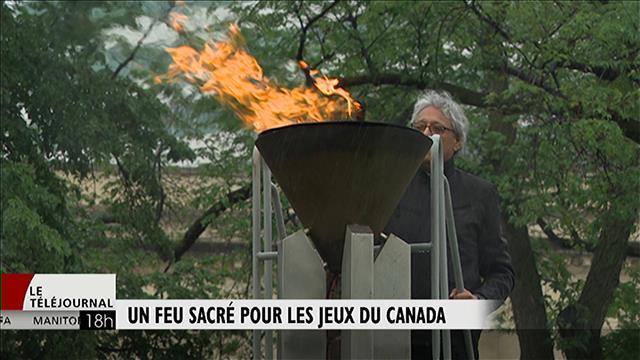 Un feu sacré pour les Jeux du Canada