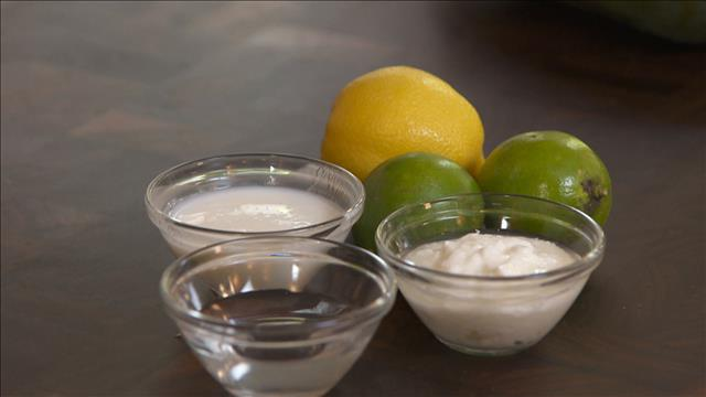 La chimie des marinades