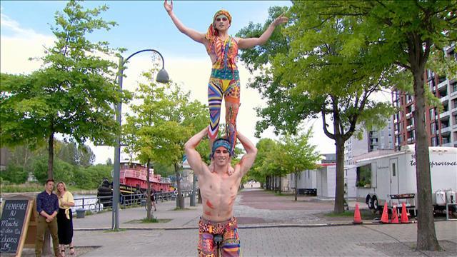 Les esprits libres du cirque Volta