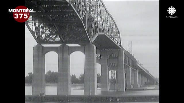 La construction de l'actuel pont Champlain