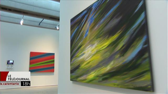 Rétrospective des oeuvres de la peintre Rita Letendre