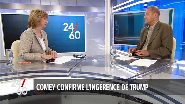 Comey confirme l'ingérence de Trump