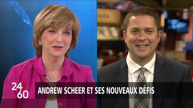 Andrew Scheer et ses nouveaux défis