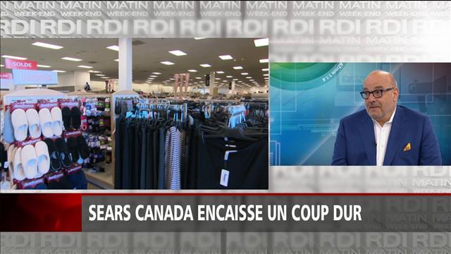 Coup dur pour Sears Canada