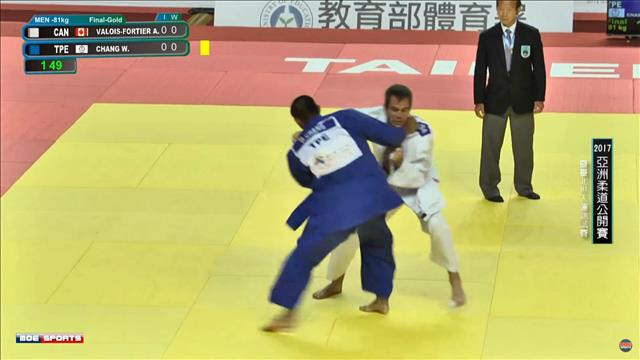 Antoine Valois-Fortier médaillé d'or à Taipei