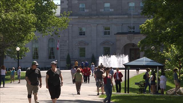 Rideau Hall à Ottawa, la résidence officielle du Gouverneur Général