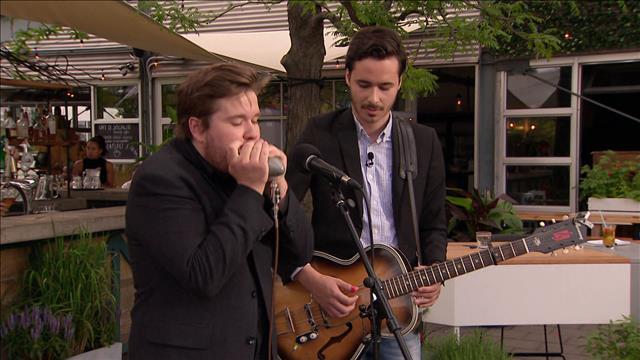 Shawn McPherson Band interprète <i>keep it to yourself</i> de Sonny boy