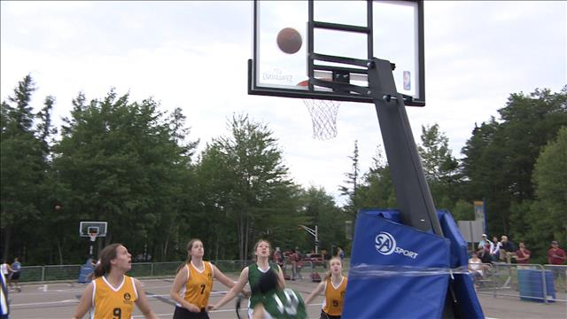 Basketball 3 contre 3 au Jeux de la francophonie : qu'en pensent les joueuses?