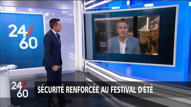Sécurité renforcée au Festival d'été de Québec