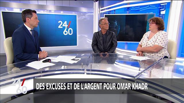 Des excuses et de l'argent pour Omar Khadr