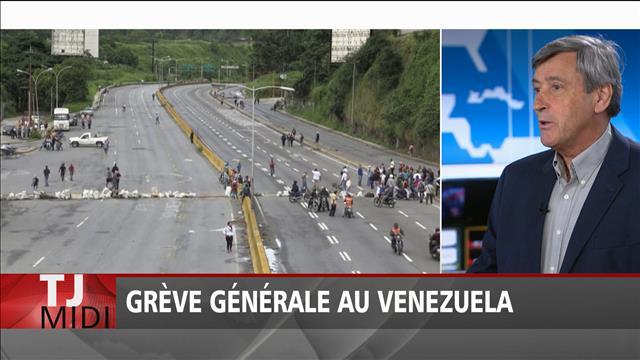 Grève générale au Venezuela