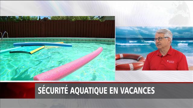 Sécurité aquatique en vacances