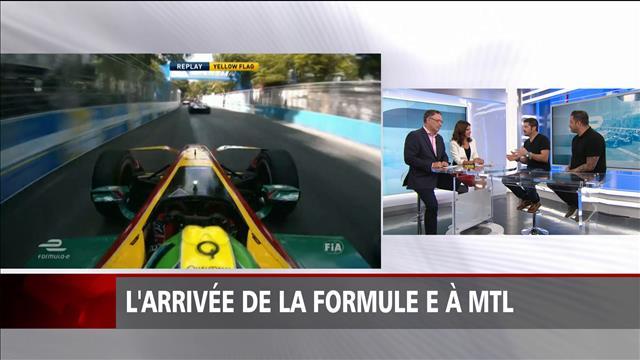 Arrivée de la Formule E à Montréal