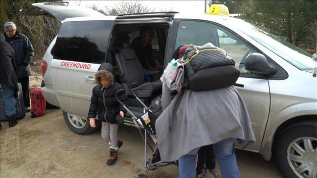 Un grand saut dans l'inconnu pour les réfugiés