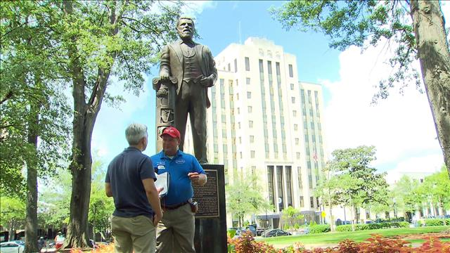 Les symboles confédérés divisent l'Alabama