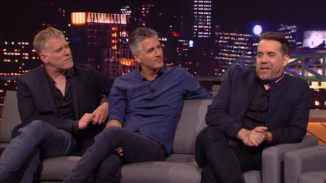 Entrevue avec Olivier Niquet, Fred Savard et Jean-Sébastien Girard